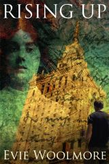 Cover Design for Rising Up by Evie Woolmore
